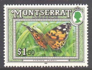 Montserrat Scott 814 - SG900, 1992 Insects $1.50 MNH**