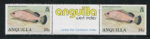 Anguilla 792a, 793a, 797a, MNH, 1992. Marine Life Fish Gutter pairs. x29322