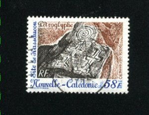 New Caledonia #635  used VF 1990   PD