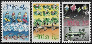 Aruba #B21-3 MNH Set - Child Welfare