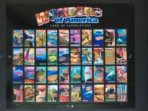 2006 sheet 39-cent Wonders of America Sc# 4033-72