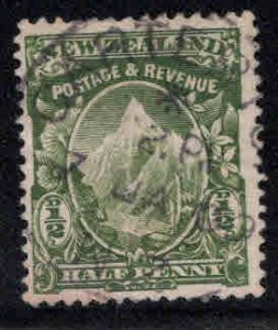 New Zealand Scott 107 Used 107 Green colored stamp