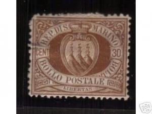 San Marino #15 Mint