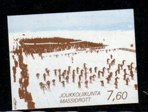 Finland Sc 793a  1989 Sports stamp booklet mint NH