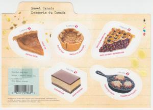 Canada - *NEW* Sweet Canada Souvenir Sheet  - MNH