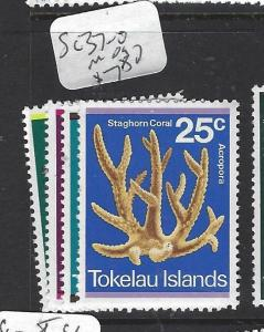 TOKELAU ISLANDS   (P1909B)  CORAL  SC 37-40  MOG