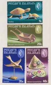 Pitcairn Islands Sc#194-197 MH
