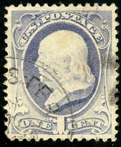 MALACK 206 XF-SUPERB, a superior centered stamp, fai..MORE.. ww2414
