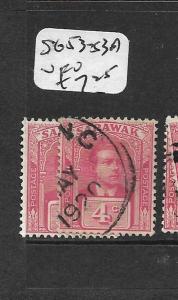 SARAWAK   (PP0104B)  4C   SG 53-53A  VFU