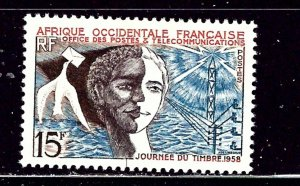 French West Africa 76 MLH 1958 issue