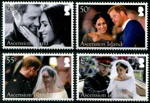 HERRICKSTAMP NEW ISSUES ASCENSION Sc.# 1203-06 Royal Wedding Prince Harry