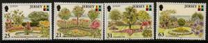 JERSEY SG899/902 1999 PARKS AND GARDENS MNH