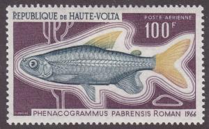 Burkina Faso C66 Phenacogrammus Pabrensis 1968