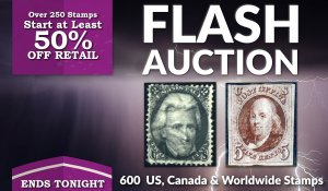 Flash Stamp Auction #176