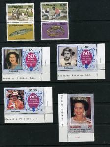 St. Vincent 608-1092 Mint NH VF 21 stamps