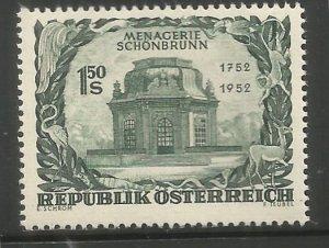 AUSTRIA  580  HINGED,  VIENNA ZOOLOGICAL GARDENS