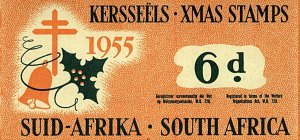 South Africa 1955 6d Xmas Stamps Booklet Mint Stamps