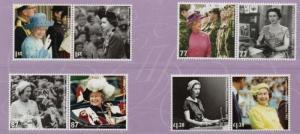 Great Britain Sc 3028-35 2012 Diamond Jubilee QE II stamp set mint NH