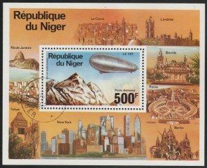 Niger #C278 CTO (Used) Souvenir Sheet