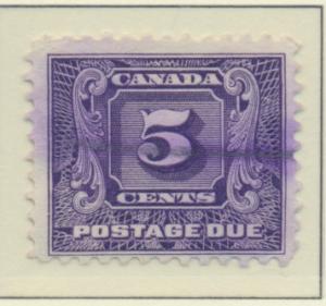 Canada Stamp Scott #J9, Used - Free U.S. Shipping, Free Worldwide Shipping Ov...