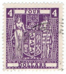 (I.B) New Zealand Revenue : Stamp Duty $4