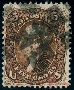 U.S. 1861-66 ISSUES 75  Used (ID # 81479)