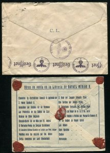 CHILE Cover Collection Registered Censor Examined Latin America Stamps Postage