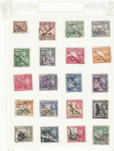 malta used stamps   ref r8377