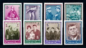 [93947] Ajman 1965 President John F. Kennedy  MNH