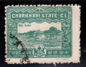 India - Charkhari Feudatory state  Scott 28 Used