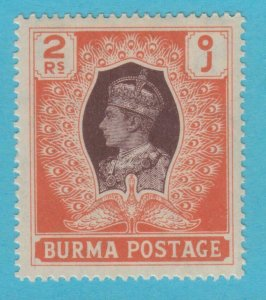 BURMA 63  MINT  HINGED OG * NO FAULTS VERY FINE !