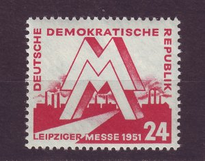 J24713 JLstamps 1951 germany DDR part of set mlh #78 leipzig fair