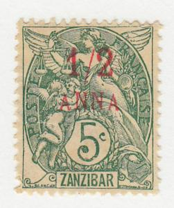France-Offices in Zanzibar - 1902 - SC 39 - H - Thin