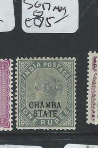 INDIA CHAMBA (P0604B) QV  1R  SG 17  MOG