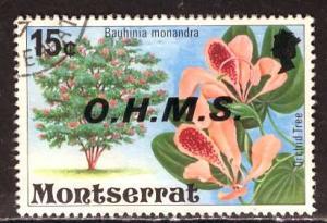Montserrat; 1976; Sc. # O12; O/Used Single Stamp