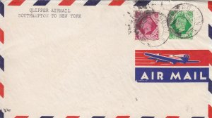 1939, Clipper Airmail, Southampton to New York (S16083)