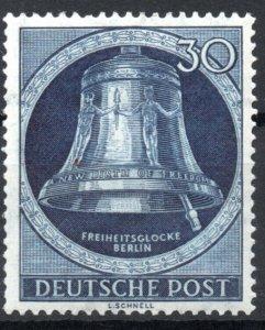 Germany Berlin 1951-1952 #9N78 VF Mint *Hinged/Unused* Bell Re-Engraved