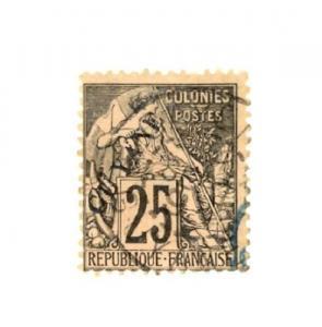 French Guiana Scott 25     [ID#429656]