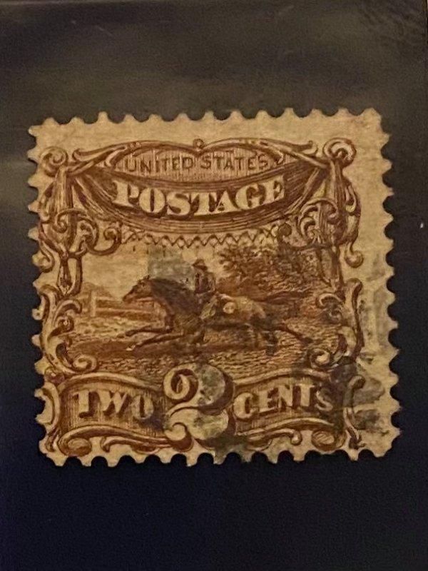 USA 1869 #113 Superb Used