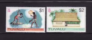 Tuvalu 35-36 MNH Various