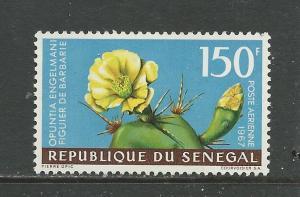 Senegal #C54 MNH Flowering Cactus CV$5