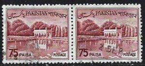 PAKISTAN #139, USED PAIR - 1962, PAK013