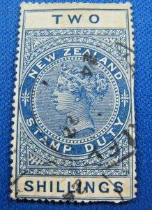 NEW ZEALAND  1882  -  SCOTT # AR1  -   USED   (Hn16)