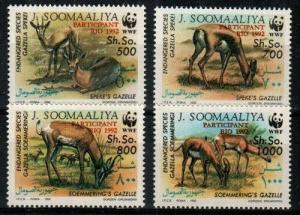 Somalia Scott 629-32 Mint NH (Catalog Value $35.00)