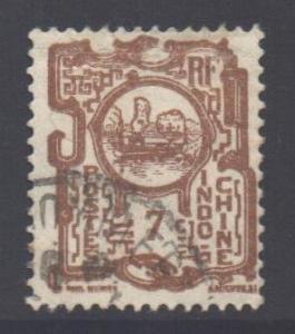 Indo-China SG146, 1927 Bay of Along 7c used