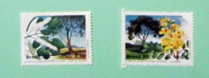 Brazil - 2229-30, MNH Set. Botanical Society. SCV - $1.85