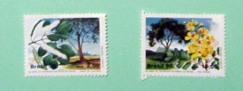 Brazil - 2229-30, MNH Set. Botanical Society. SCV - $1.85
