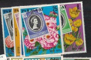 Paraguay SC 1845-53 MNH (6eek)