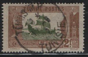 TUNISIA , 54, USED, 1906-26 Carthaginian Galley