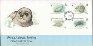 British Antarctic Territory #116, Antarctic Cachet and/or Cancel